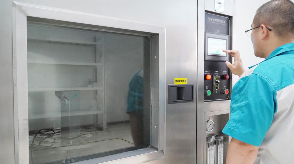 质量管理‖激光对射出厂前都有哪些检测工序?